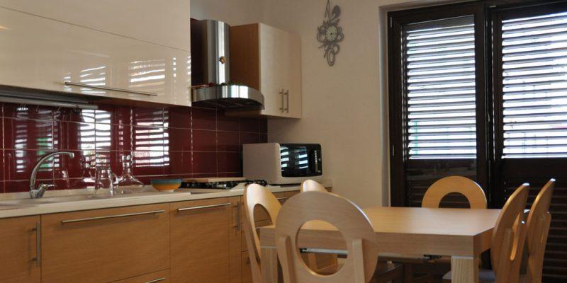 cucina su misura in legno