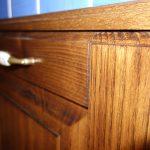 Dettaglio giunzione legno
